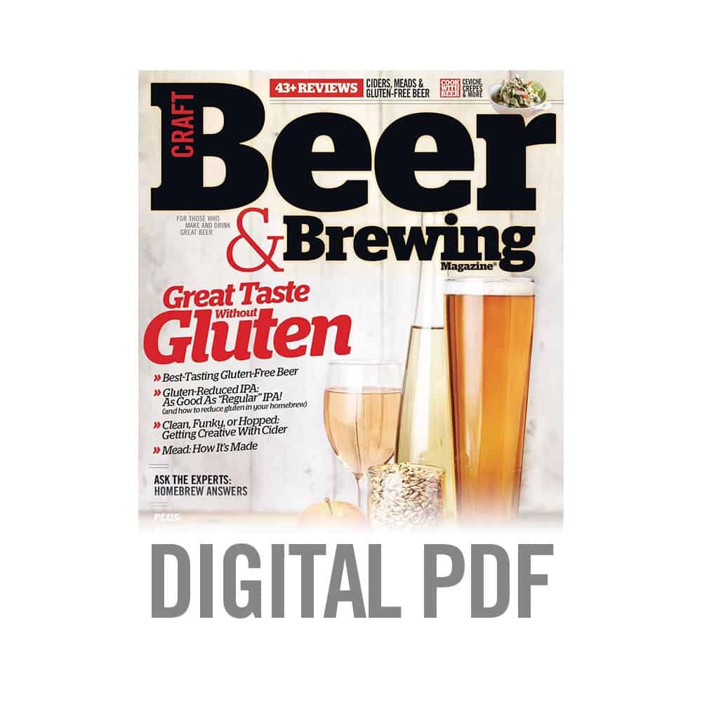 Grouse's Debut in Craft Beer & Brewing Magazine